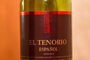 Вино El Tenorio