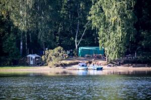 На берегу реки Волга