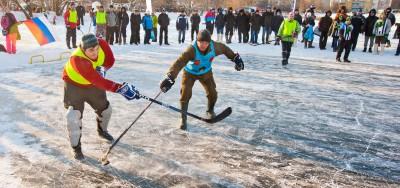 Хоккей на Волге 2016